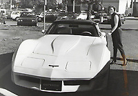OVHS 1989 Black and White yearbook prints scanned by Rob Wilson.  1980's fashion. Corvette