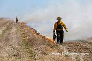 63863-02802 Prescribed Burn by IDNR Prairie Ridge State Natural Area Marion Co. IL