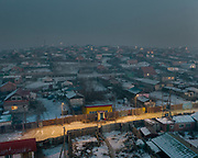 Based in a depression, the Bayankhoshuu ger district is one of the most polluted in Ulan Bator.<br /> Mongolia