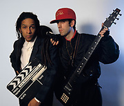 Don letts and Mick Jones - Big Audio Dynamite 1986