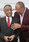 14 June 2010- Harlem, New York- l to r: Rev. Al Sharpton and Richard Parsons at The Apollo Theater's 2010 Spring Benefit and Awards Ceremony hosted by Jamie Foxx inducting Aretha Frankilin and Michael Jackson, and honoring Jennifer Lopez and Marc Anthony co- sponsored by Moet et Chandon which was held at the Apollo Theater on June 14, 2010 in Harlem, NYC. Photo Credit: Terrence Jennngs/Sipa