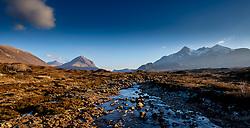 The River Sligachan with Marsco and the Cuillins beyond - Isle of Skye, Scotland<br /> <br /> (c) Andrew Wilson | Edinburgh Elite media