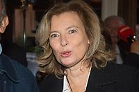 Valérie Trierweiler  Prix Goncourt 2019 Restaurant Drouant Lundi 4 Novembre 2019 Paris