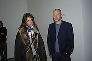 Tracey Emin and Carl Freedman. Mika Kato, Martin Kobe and Masako Ando  private view. White Cube, 48 Hoxton Square, London, 20 January 2005. <br /> Martin Kobe,ONE TIME USE ONLY - DO NOT ARCHIVE  © Copyright Photograph by Dafydd Jones 66 Stockwell Park Rd. London SW9 0DA Tel 020 7733 0108 www.dafjones.com