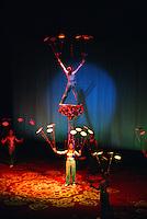 Acrobat performance, Shanghai Centre, Shanghai, China