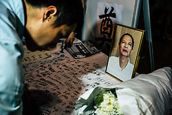 June 6, 2017 - Hong Kong, China - Mourn the 5th death anniversary of Li Wangyang in the Tsim Sha Tsui Star  five flagpole held a rally with about 200 people attended. (Credit Image: © Yeung Kwan/Pacific Press via ZUMA Wire)