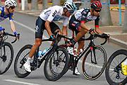 Gianni Moscon (ITA - Team Sky), Fabio Aru (ITA - UAE Team Emirates) during the Tour of Guangxi 2018, stage 1, Beihai - Beihai 107,4 km on October 16, 2018 in Beihai, China - Photo Luca Bettini / BettiniPhoto / ProSportsImages / DPPI