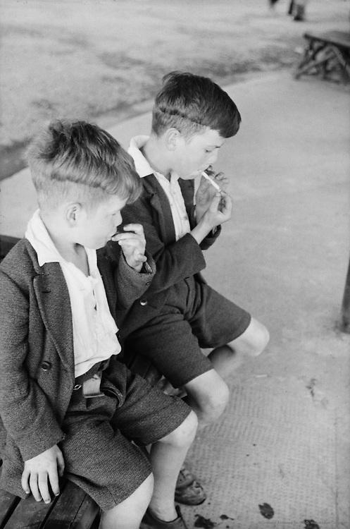 Boys Smoking, London, 1937