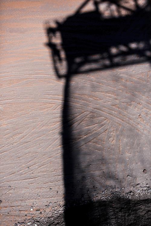 Itabira_MG, Brasil.<br /> <br /> Extracao de minerio na mina da Conceicao, novas tecnicas de mineração estao permitindo extrair ferro da terra pobre, prolongando a vida util da mina em decadas em Itabira, Minas Gerais.<br /> <br /> In the picture, the extraction area of the Conceicao Mine. New mining techniques are allowing the mine to extract iron from poor dirt, extending the life of the mine in decades in Itabira, Minas Gerais.<br /> <br /> Foto: LEO DRUMOND / NITRO