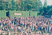 Rainier Beer Sunbust, rock festival at Washington Park ampitheater, September 11, 1971.