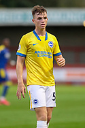 Brighton and Hove Albion midfielder Marc Leonard (56) portrait during the EFL Trophy Southern Group G match between AFC Wimbledon and Brighton and Hove Albion U21 at The People's Pension Stadium, Crawley, England on 22 September 2020.