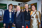 NO FEE PICTURES<br /> 23/1/16 Minister for Tourism Michael Ring and Maureen Ledwith, organiser of the Holiday World Show at the Visit Wicklow stand at the Holiday World Show at the RDS in Dublin. Picture: Arthur Carron