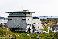 Norway, Rogaland, Kvitsøy. Pilot's office.