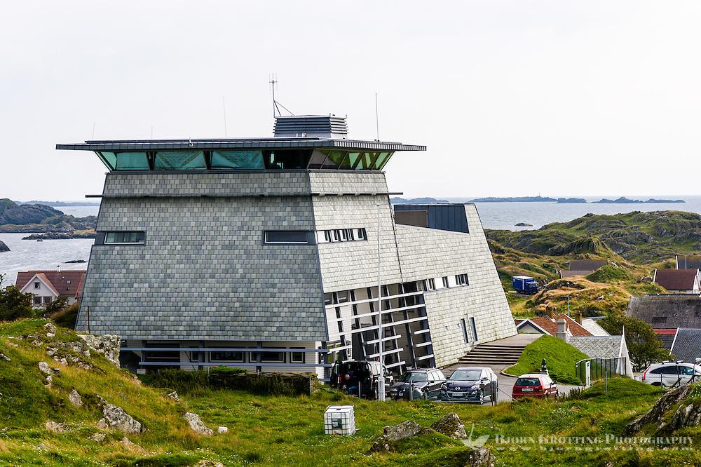 Norway, Rogaland, Kvitsøy. Pilot's office.