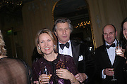 Mr. and Mrs. Arnaud Bamberger. Conde Nast Traveller Tsunami Appeal dinner. Four Seasons  Hotel. Hamilton Place, London W1. 2 March 2005. ONE TIME USE ONLY - DO NOT ARCHIVE  © Copyright Photograph by Dafydd Jones 66 Stockwell Park Rd. London SW9 0DA Tel 020 7733 0108 www.dafjones.com