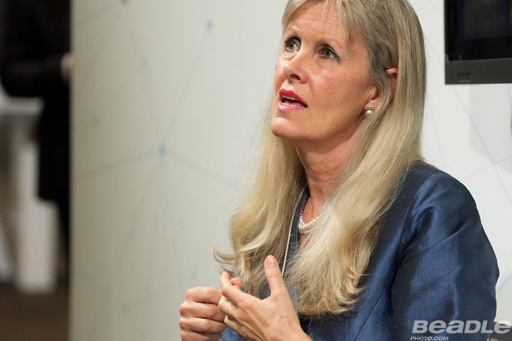 Kristine Pearson, Chief Executive<br /> Lifeline Energy at the World Economic Forum on Africa 2017 in Durban, South Africa. Copyright by World Economic Forum / Greg Beadle