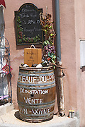 wine shop chateauneuf du pape rhone france