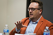 Michael Wagner speaks during the Cap Times Idea Fest 2018 at the Pyle Center in Madison, Wisconsin, Saturday, Sept. 29, 2018.