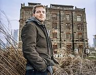 CHINA / Shanghai  /  Thomas Charveriat<br /> <br /> Art dealer and manager Thomas Charveriat of Gallery Island in Moganshan Lu , Shanghai<br /> <br /> © Daniele Mattioli / Anzenberger