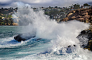 La Jolla Cove Crashing Waves