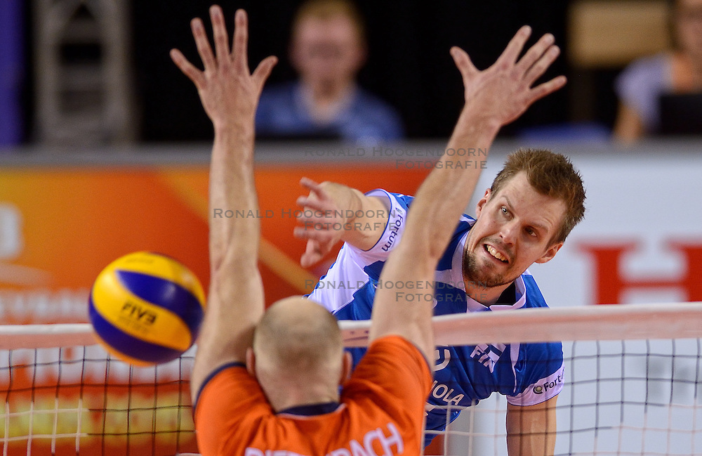 20150614 NED: World League Nederland - Finland, Almere<br /> Olli-Pekka Ojansivu #16