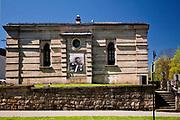 Synagoga w Nowym Sączu, zwana również Grodzką - ściana wschodnia, Polska<br /> Synagogue in Nowy Sącz, also known as Grodzka - east wall, Poland