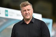 Oxford United manager Karl Robinson during the EFL Sky Bet League 1 match between Wycombe Wanderers and Oxford United at Adams Park, High Wycombe, England on 15 September 2018.