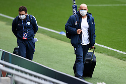 Laurent Travers, director of rugby for Racing 92 prior to kick off - Mandatory by-line: Ryan Hiscott/JMP - 17/10/2020 - RUGBY - Ashton Gate Stadium - Bristol, England - Exeter Chiefs v Racing 92 - Heineken Champions Cup Final