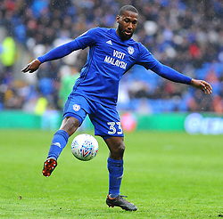 Junior Hoilett of Cardiff City controls the ball - Mandatory by-line: Nizaam Jones/JMP- 30/03/2018 -  FOOTBALL -  Cardiff City Stadium- Cardiff, Wales -  Cardiff City v Burton Albion - Sky Bet Championship