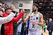 Michele Vitali<br /> Banco di Sardegna Dinamo Sassari - Turk Telecom Ankara<br /> FIBA BCL Basketball Champions League Gir.A 2019-2020<br /> Sassari, 18/12/2019<br /> Foto L.Canu / Ciamillo-Castoria
