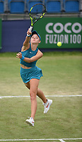 Katie Swan on Day Six of the Fuzion 100 Surbiton Trophy at the Surbiton Racket & Fitness Club, Surrey, United Kingdom.<br /> Picture by Daniel Hambury/Focus Images Ltd 07813022858<br /> 07/06/2018