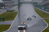 ROSBERG Nico (Ger) Mercedes Gp Mgp W05 action HAMILTON Lewis (Gbr) Mercedes Gp Mgp W05 action voiture de securite safety car depart start  during the 2014 Formula One World Championship, Japan Grand Prix from October 3rd to 5th 2014 in Suzuka. Photo Frederic Le Floc'h / DPPI