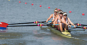 Plovdiv BULGARIA. 2017 FISA. Rowing World U23 Championships. <br /> USA BW4- YURKO, Tessa, SIVERLING, Alexandra, WHEELER, Carlisle and RUSHER, Alison<br /> Wednesday. PM,  Heats 16:00:07  Wednesday  19.07.17   <br /> <br /> [Mandatory Credit. Peter SPURRIER/Intersport Images].