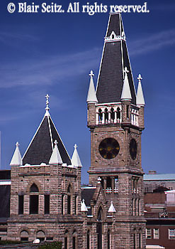 Towers, City Hall, Scranton, Lackawanna Co., PA