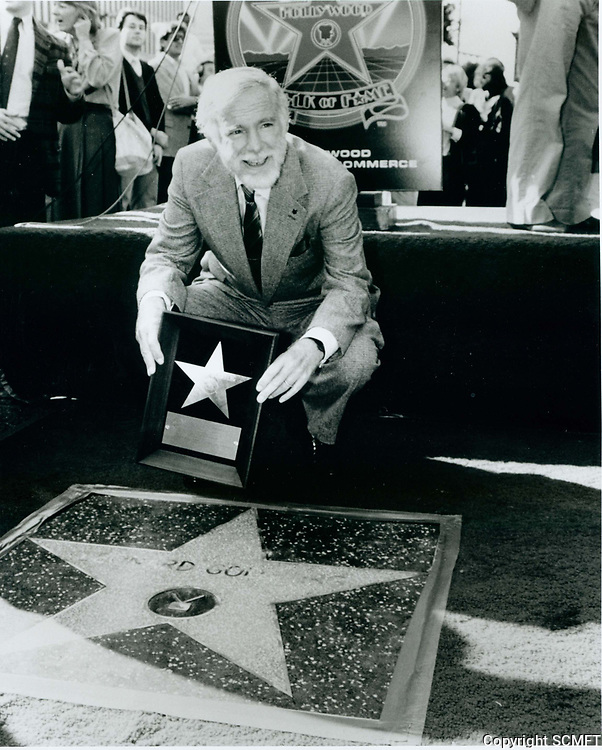 1986 Leonard Goldberg's Walk of Fame ceremony