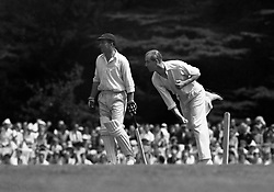File photo dated 02/08/53 of the Duke of Edinburgh bowling during the 12 a side cricket match between the Duke of Edinburgh and the Duke of Norfolk. Philip was an accomplished all-round sportsman with a particular passion for polo and carriage driving. Issue date: Friday April 9, 2021.