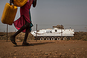 The United Nations Mission in South Sudan (UNMISS) Protection of Civilian site (CoP), outside the capital Juba, South Sudan, January 28, 2017.