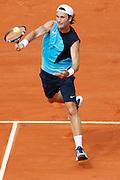 Roland Garros. Paris, France. June 6th 2007..1/4 Finals..Carlos MOYA against Rafael NADAL..