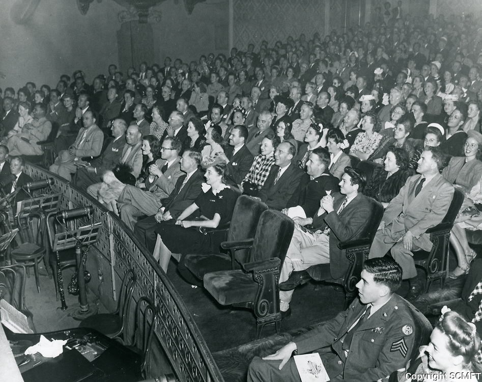 1949 Audience at the Blackouts