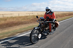 Motorcycle Cannonball coast to coast vintage run. Stage 12 (242 miles) from Great Falls to Kalispell, MT. Thursday September 20, 2018. Photography ©2018 Michael Lichter.