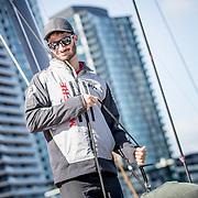 © Maria Muina I MAPFRE. Docking out in Melbourne. Soltando amarras en Melbourne.