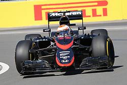 06.06.2015, Circuit Gilles Villeneuve, Montreal, CAN, FIA, Formel 1, Grand Prix von Kanada, Qualifying, im Bild Jenson Button (GBR) McLaren MP4-30 // during Qualifyings of the Canadian Formula One Grand Prix at the Circuit Gilles Villeneuve in Montreal, Canada on 2015/06/06. EXPA Pictures © 2015, PhotoCredit: EXPA/ Sutton Images/ Mirko Stange<br /> <br /> *****ATTENTION - for AUT, SLO, CRO, SRB, BIH, MAZ only*****