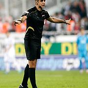 Referee Mete Kalkavan during their Turkish superleague soccer match Besiktas between Sivasspor at BJK Inonu Stadium in Istanbul Turkey on Monday, 01 October 2012. Photo by TURKPIX