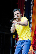 Rap star Juggy D performs at the Vaisakhi Festival, Trafalgar Square, London, UK (5 May 2013). Vaisakhi is one of the most important days in the Sikh religion, and also marks the beginning of the New Year.