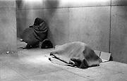 Homeless, Farragut Metro Station Washington DC 1986