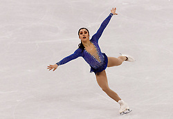 February 12, 2018 - Gangneung, South Korea - Gabrielle Daleman of Canada compete during the Team Event Ladies Single Skating FS at the PyeongChang 2018 Winter Olympic Games at Gangneung Ice Arena on Monday February 12, 2018. (Credit Image: © Paul Kitagaki Jr. via ZUMA Wire)