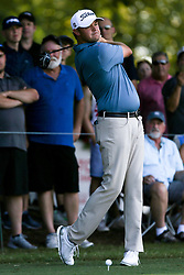 September 19, 2018 - Atlanta, Georgia, United States - Patton Kizzire tees off the 10th hole during the practice round at the 2018 TOUR Championship. (Credit Image: © Debby Wong/ZUMA Wire)