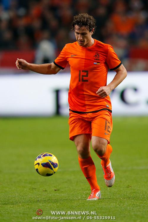 NLD/Amsterdam/20121114 - Vriendschappelijk duel Nederland - Duitsland, Daryl Janmaat