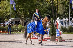 Prijsuitreiking, Clemens Pieter, BEL<br /> Belgisch Kampioenschap Jumping  <br /> Lanaken 2020<br /> © Hippo Foto - Dirk Caremans<br /> <br />  05/09/2020