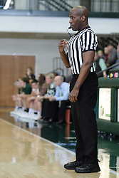 12 December 2015:  Jonathan Patterson during an NCAA women's basketball game between the Wisconsin Stevens Point Pointers and the Illinois Wesleyan Titans in Shirk Center, Bloomington IL